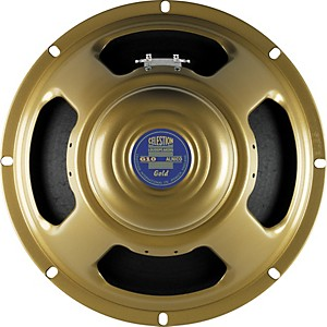 Celestion G10 Gold 40W, 10 inch Alnico Guitar Speaker by Celestion