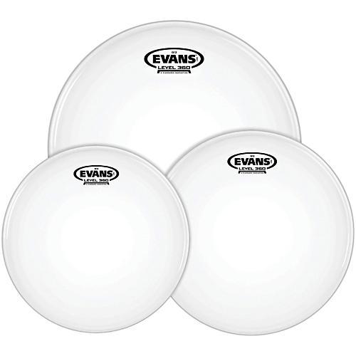 Evans G12 Coated White 12/13/16 Standard Drumhead Pack