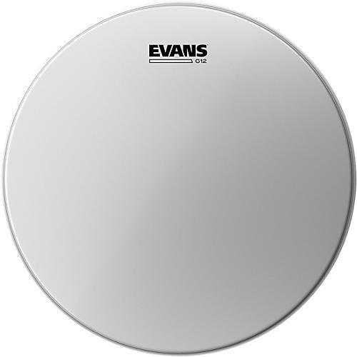 Evans G12 Coated White Batter Drumhead-thumbnail