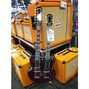 Pre-owned Epiphone G1275 Double Neck Solid Body Electric Guitar