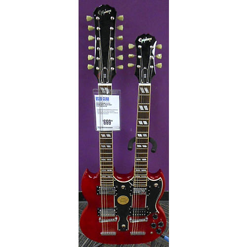 Epiphone G1275 Doubleneck Solid Body Electric Guitar-thumbnail