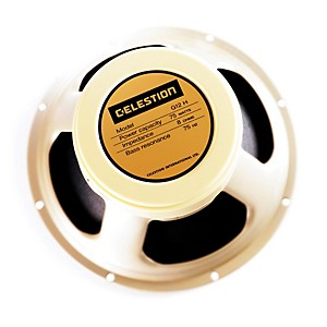 Celestion G12H-75 Creamback 12 inch 75 Watt Guitar Speaker, 8 Ohm