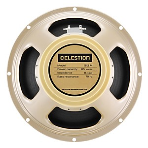 Celestion G12M-65 Creamback 12 inch 65 Watt Guitar Speaker by Celestion