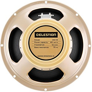 Celestion G12M-65 Creamback 12 inch Speaker 16 Ohm by Celestion
