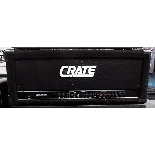 used crate g1600r solid state guitar amp head guitar center. Black Bedroom Furniture Sets. Home Design Ideas