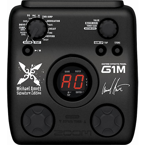 Zoom G1M Michael Amott Signature Guitar Multi-Effects Pedal-thumbnail