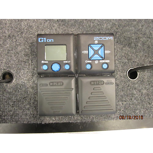 Zoom G1ON Effect Processor-thumbnail