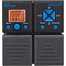 Zoom G1on Guitar Multi-Effects Pedal Level 1