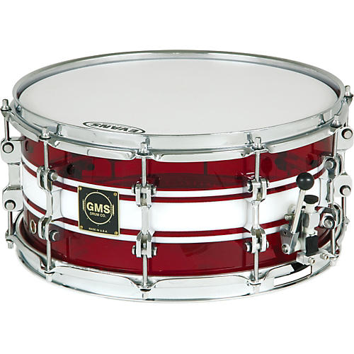 GMS G28 Acrylic Snare Drum-thumbnail