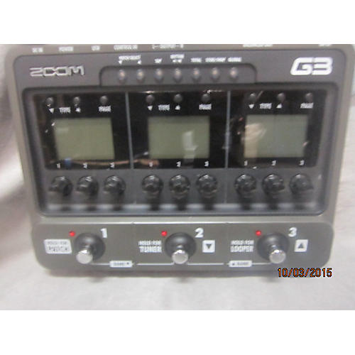 Zoom G3 Effect Processor-thumbnail