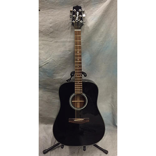 Takamine G320 W/case Black Acoustic Guitar-thumbnail