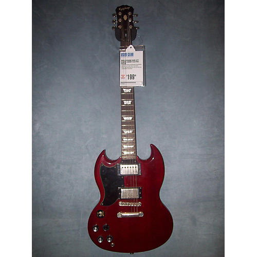 Epiphone G400 Left Handed Electric Guitar-thumbnail