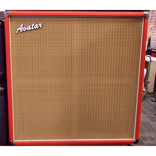 Avatar G410 Guitar Cabinet Red