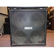 Crate G412ST Bass Cabinet
