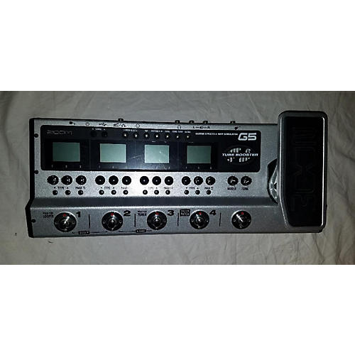used zoom g5 multi effects processor guitar center. Black Bedroom Furniture Sets. Home Design Ideas