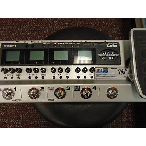 Zoom G5 TUBE BOOSTER Effect Processor