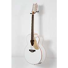 G5022CWFE-12 Rancher Falcon Jumbo 12-String Acoustic-Electric Guitar Level 2 White 190839116659