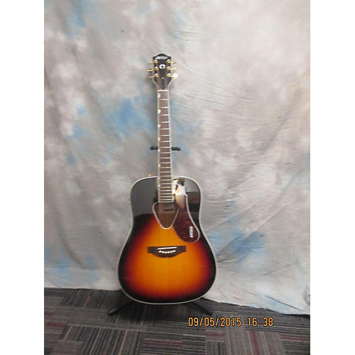 In Store Used G5024E Tobacco Burst Acoustic Electric Guitar