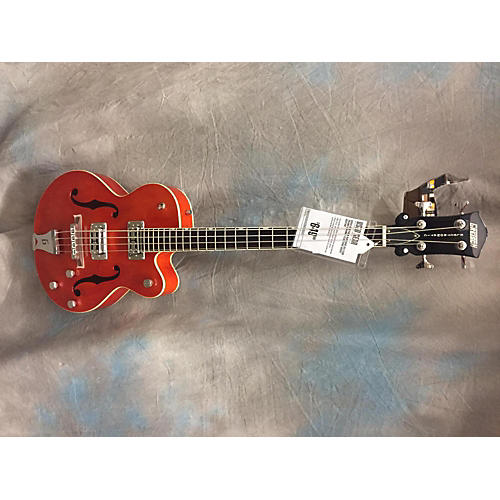 Gretsch Guitars G5123B Electric Bass Guitar Trans Orange