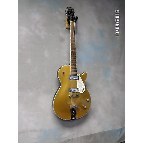 Gretsch Guitars G5235T Solid Body Electric Guitar Gold