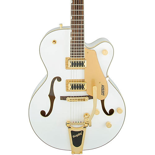 Gretsch Guitars G5420T Electromatic Hollowbody Electric Guitar White Gold Hardware