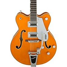 Gretsch Guitars G5422T Electromatic Double Cutaway with Bigsby Hollowbody Electric Guitar Level 1 Amber Stain