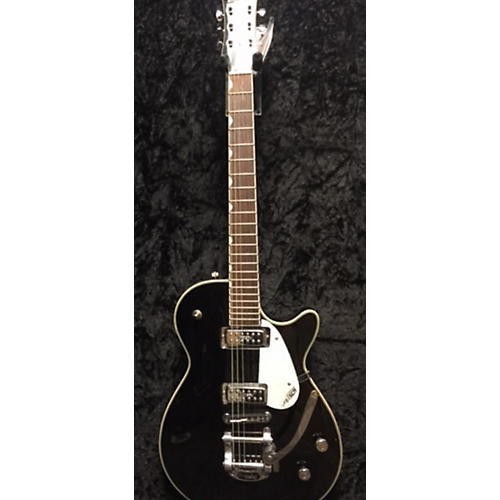 Gretsch Guitars G5435T Electromatic Pro Jet Bigsby Hollow Body Electric Guitar Black