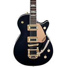 Gretsch Guitars G5435TG-BLK-LTD16 Limited Edition Electromatic Pro Jet with Bigsby and Gold Hardware Solidbody Electric Guitar