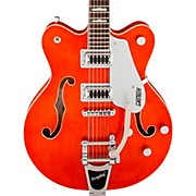 G5622T Double Cutaway Center Block Electric Guitar Orange Stain