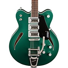 G5622T Electromatic Center Block Semi-Hollow Electric Guitar Georgia Green