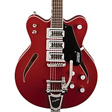 G5622T Electromatic Center Block Semi-Hollow Electric Guitar Rosa Red