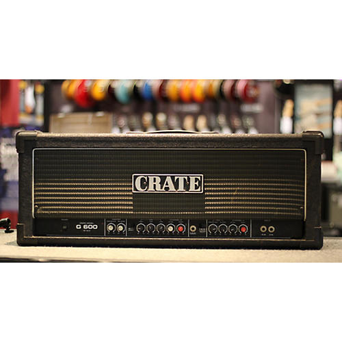 Crate G600 Solid State Guitar Amp Head-thumbnail