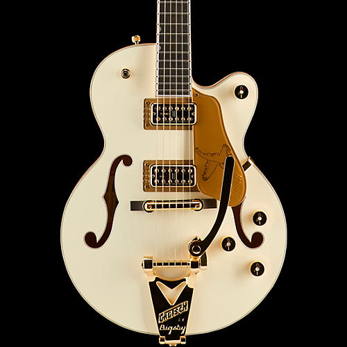 Gretsch Guitars G6112TCB-WF Limited Edition Falcon Center Block Jr. with Bigsby and Gold Hardware Electric Guitar-thumbnail