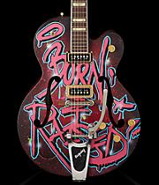 "Gretsch Guitars G6120 Custom Painted by Mr. Kaves, ""Brooklyn"""