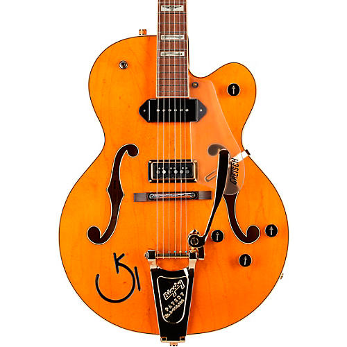 Gretsch Guitars G6120 Eddie Cochran Hollowbody Electric Guitar Western Maple Stain