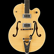 Gretsch Guitars G6120SH Brian Setzer Hot Rod Flame Maple Body Semi-Hollow Electric Guitar Blonde