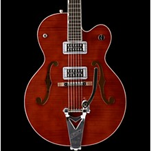 Gretsch Guitars G6120SH Brian Setzer Hot Rod Flame Maple Body Semi-Hollow Electric Guitar