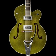 Gretsch Guitars G6120SH Brian Setzer Hot Rod Semi-Hollow Electric Guitar Green Sparkle