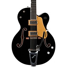 G6120SSU Brian Setzer Nashville Semi-Hollow Electric Guitar Black