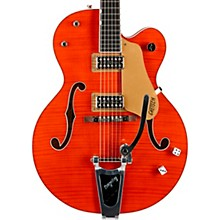 G6120SSU Brian Setzer Nashville Semi-Hollow Electric Guitar Tiger Flame