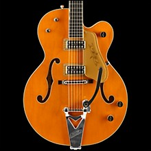 Gretsch Guitars G6120T-59 Vintage Select Edition '59 Chet Atkins Hollowbody with Bigsby Vintage Orange Stain