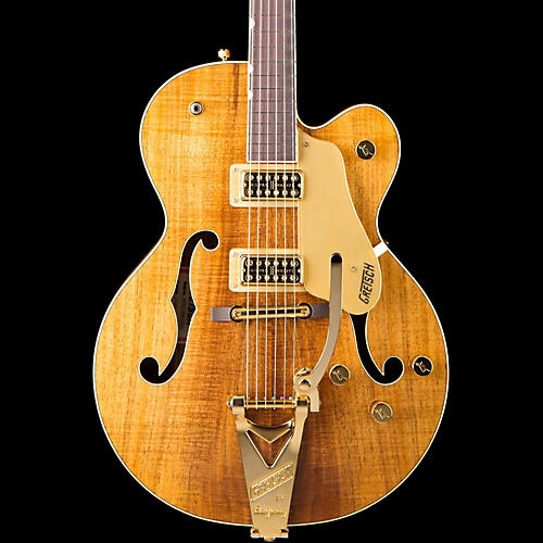 gretsch guitars g6120t koa ltd15 nashville hollow body limited edition electric guitar guitar. Black Bedroom Furniture Sets. Home Design Ideas