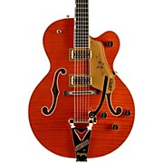 Gretsch Guitars G6120TFM Nashville with Bigsby Hollowbody Electric Guitar