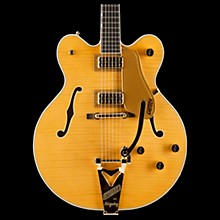 Gretsch Guitars G6122TFM-AM Players Country Gentleman Electric Guitar with Bigsby Amber Stain