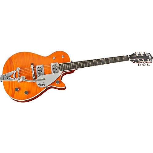 Gretsch Guitars G6128T-TV-TM Power Jet Flame Top Electric Guitar
