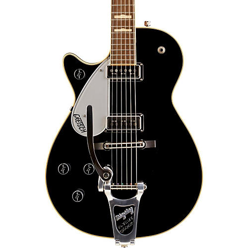 Gretsch Guitars G6128TDSLH Duo Jet Left-Handed Electric Guitar Black