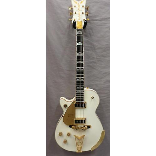 Gretsch Guitars G6134 White Penguin Left Handed Electric Guitar-thumbnail