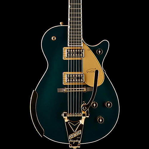 Gretsch Guitars G6134T-CDG Limited Edition Penguin with Bigsby and Gold Hardware Solidbody Electric Guitar-thumbnail