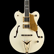 Gretsch Guitars G6136B-TP-AWT Tom Petersson Signature Electric Bass Guitar Aged White