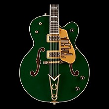 Gretsch Guitars G6136I Irish Falcon Bono Signature Electric Guitar Evergreen with Gold Sparkle
